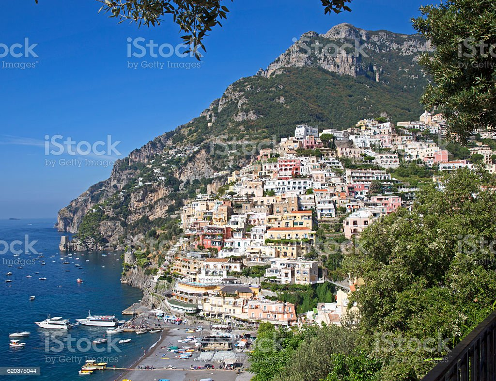 Positano foto de stock royalty-free