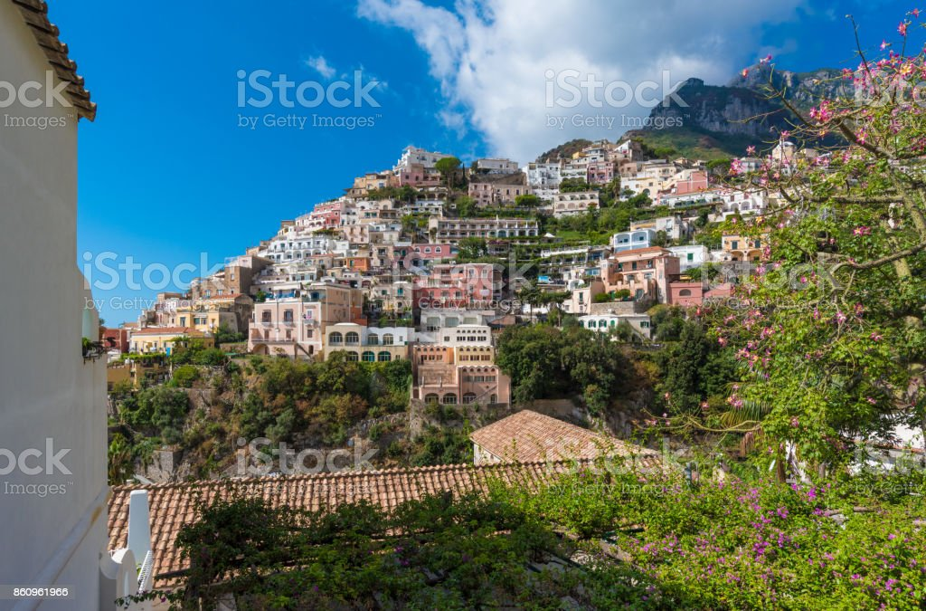 Positano (Campania, Italy) stock photo
