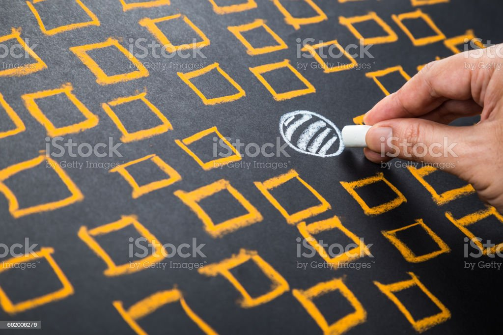 Positioning royalty-free stock photo