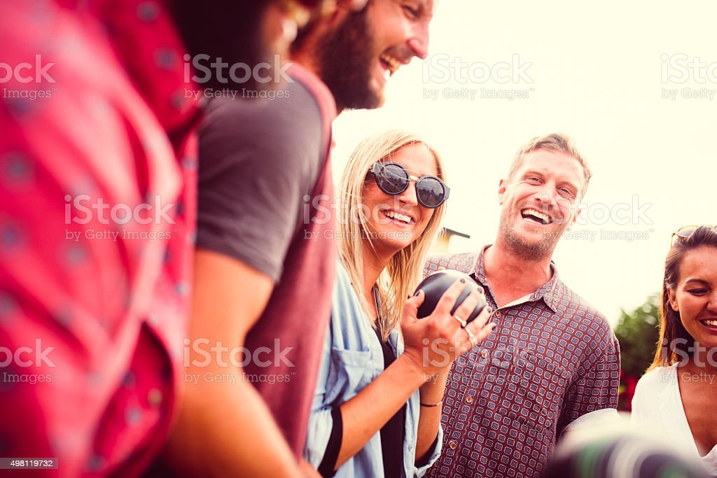Positive approach is crucial! stock photo