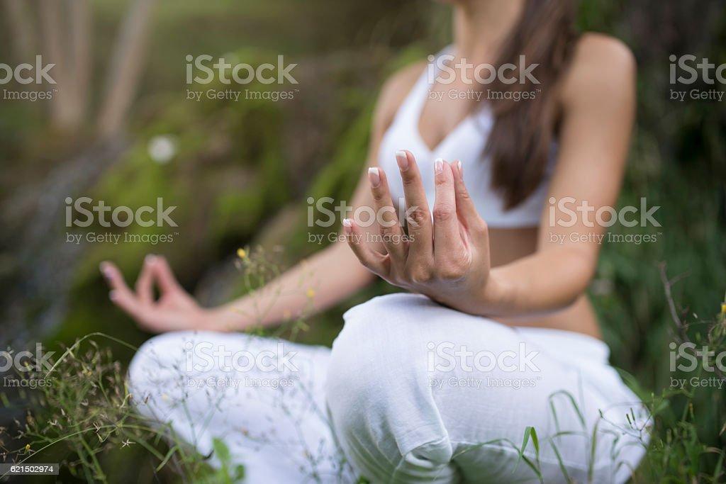 Positive aura foto stock royalty-free