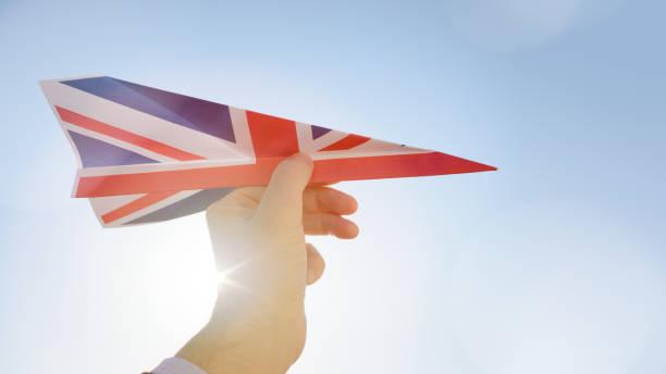 Positive Brexit Business Concept stock photo