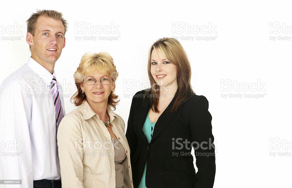 Equipo de negocios positivo foto de stock libre de derechos