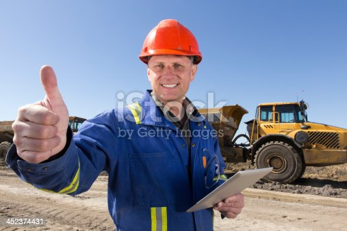 positive construction laborer stock photo more pictures of architect istock