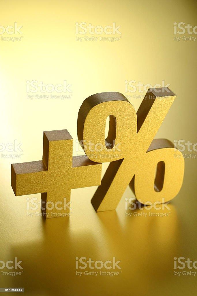 Positive Gain stock photo