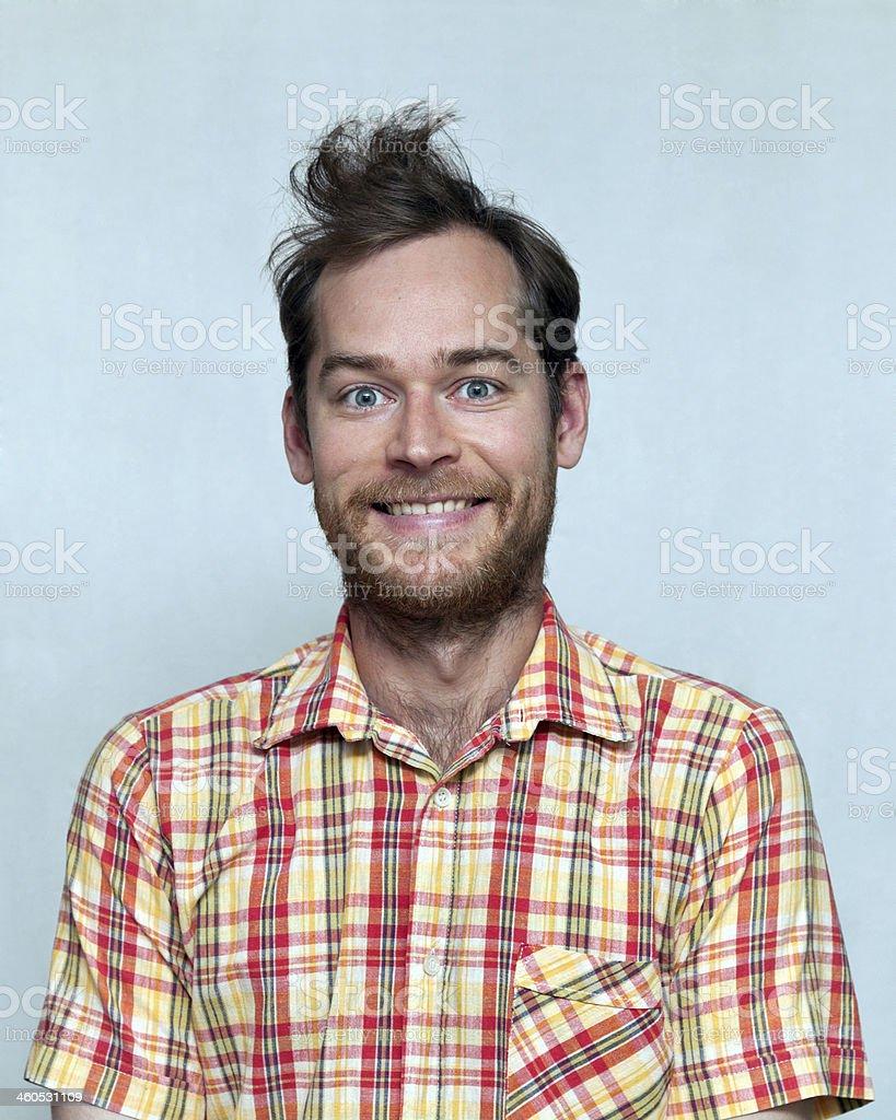 Positive Man stock photo