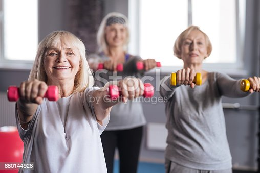 istock Positive persistent women trying to lose some weight 680144926