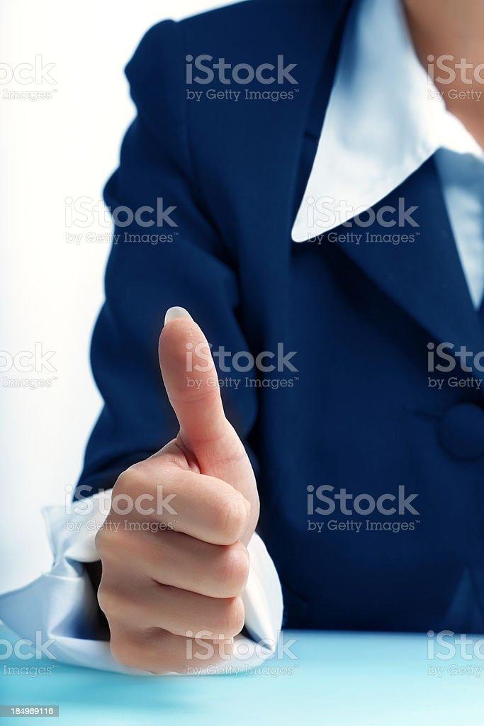 Positive royalty-free stock photo