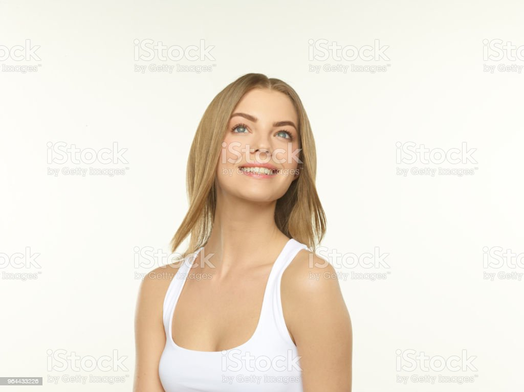 positive smile - Royalty-free Adult Stock Photo
