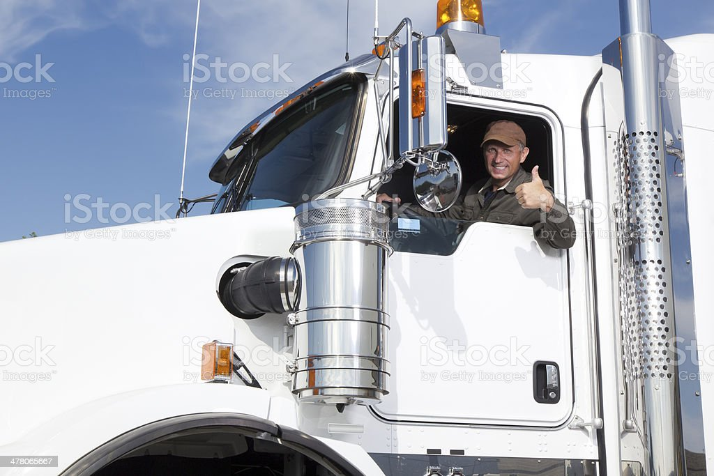 Positive Truck Drvier – Foto