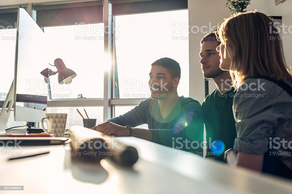 Positive work ethic bildbanksfoto