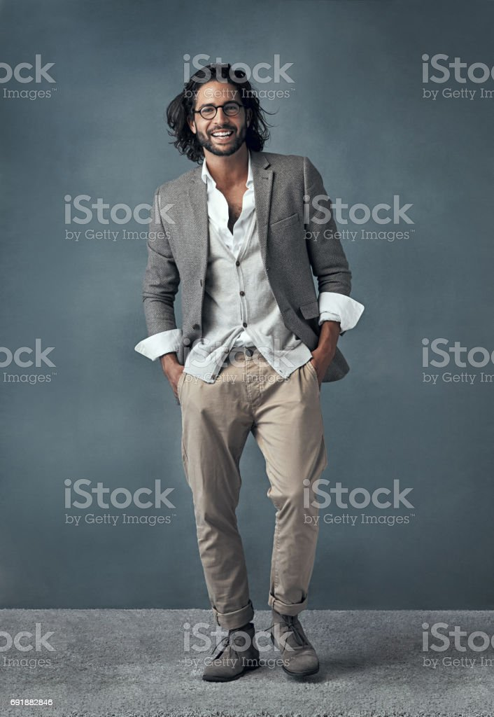 Positively charming stock photo