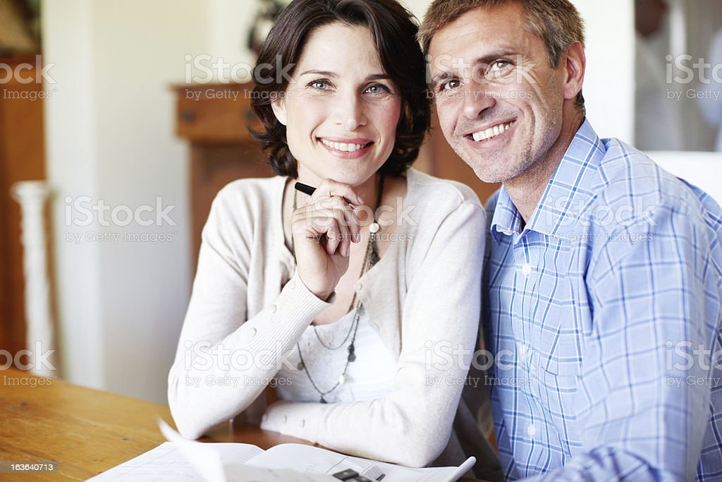 Positivity is their strong point! royalty-free stock photo