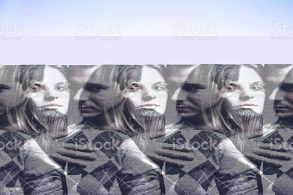 Possesive emotion stock photo
