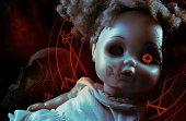 Possessed demonic doll.