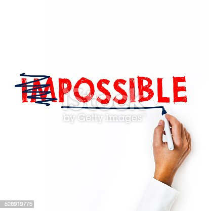 istock Possible and Impossible / Felt tip pen (Click for more) 526919775