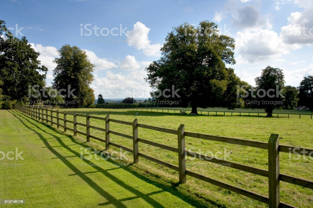 Picture of: Post And Rail Fencing Stock Photo Download Image Now Istock