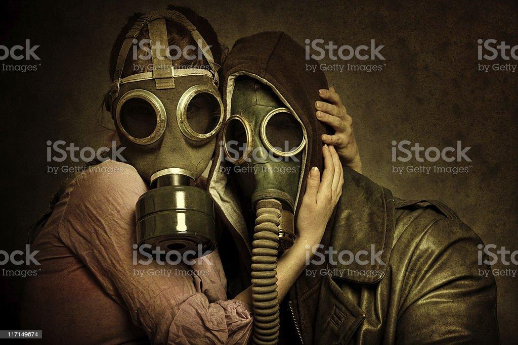 Post Apocalyptic Love royalty-free stock photo
