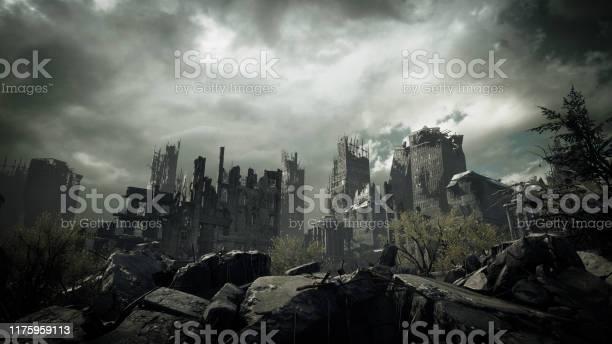 Photo of Post Apocalyptic Urban Landscape