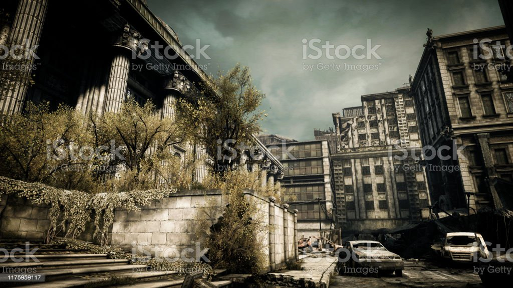 Post Apocalyptic Urban Landscape Stock Photo Download Image Now Istock