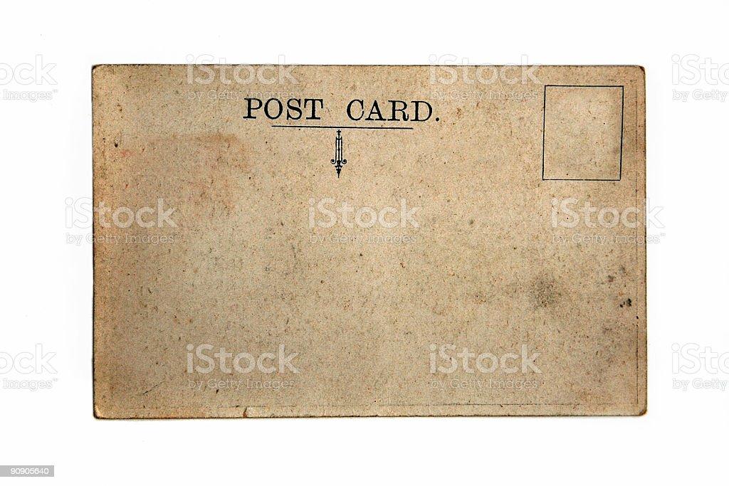 Post Card royalty-free stock photo