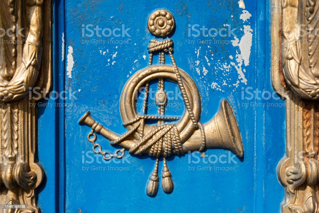 Picture of: Post Horn Of An Old German Mailbox Stock Photo Download Image Now Istock