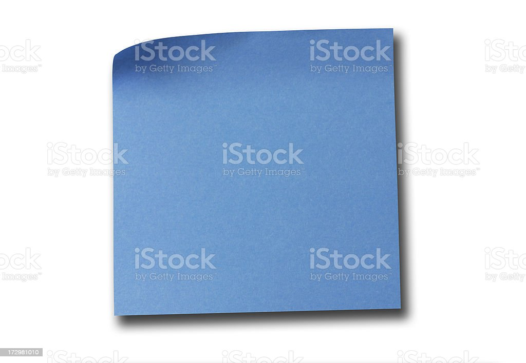 Post it Notes royalty-free stock photo