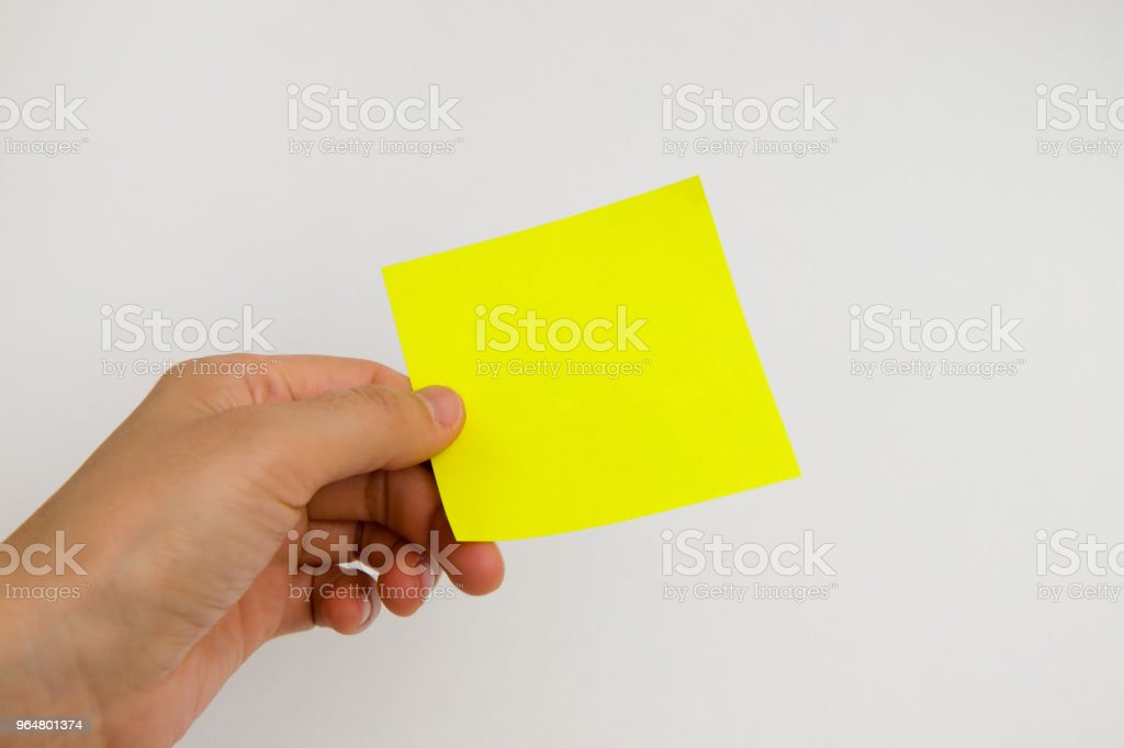 post it paper royalty-free stock photo