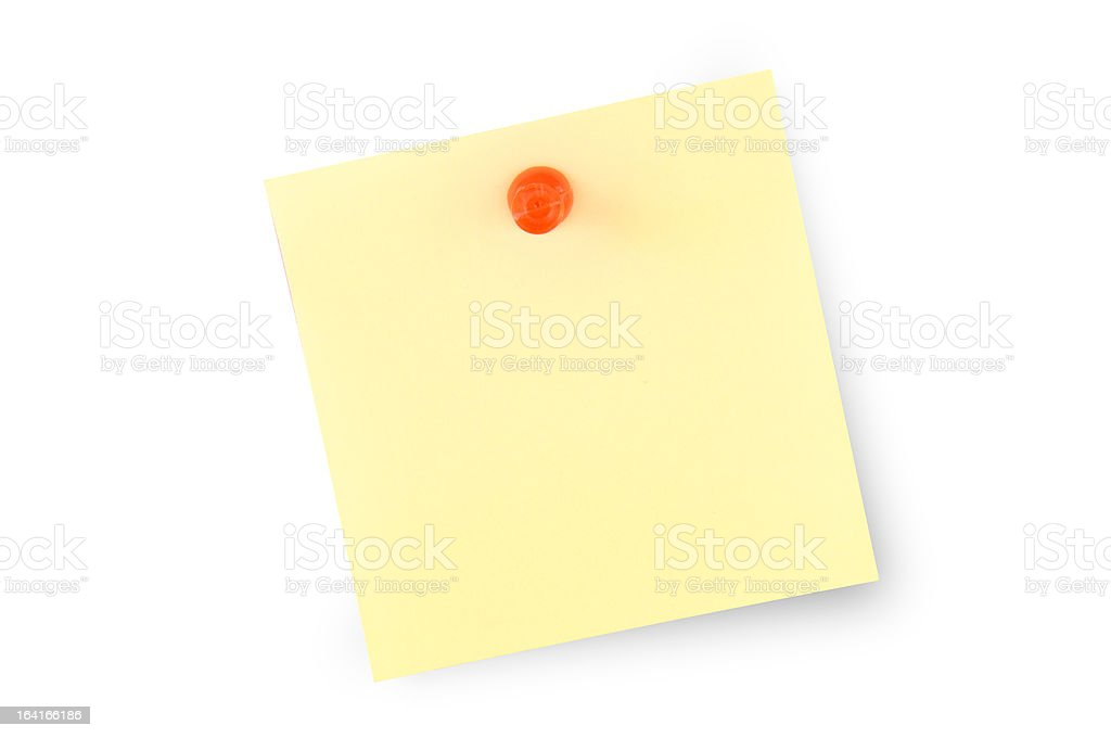 Post it royalty-free stock photo