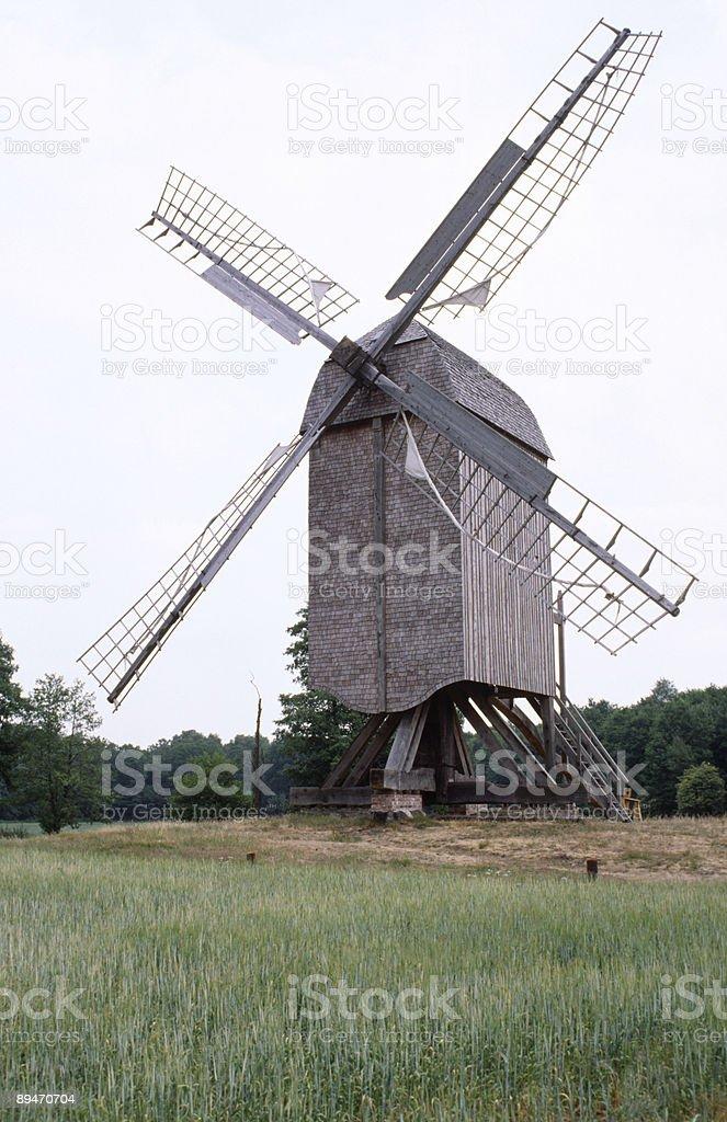 Bockwindmühle Lizenzfreies stock-foto