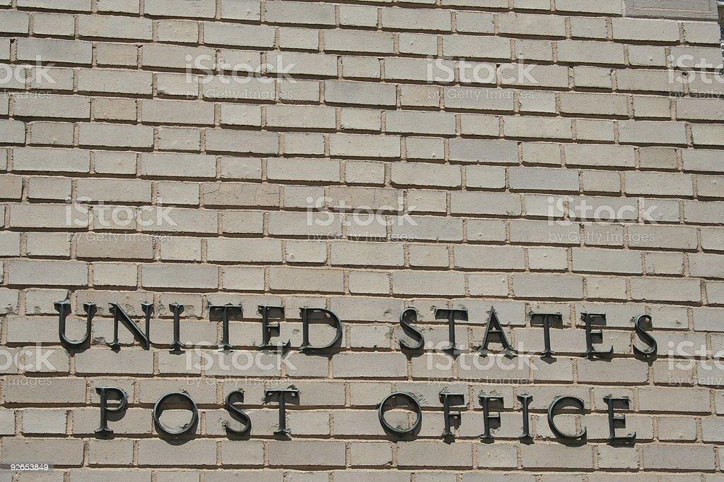 Post Office 2 stock photo