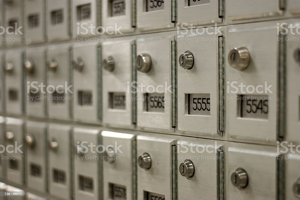 post office box stock photo