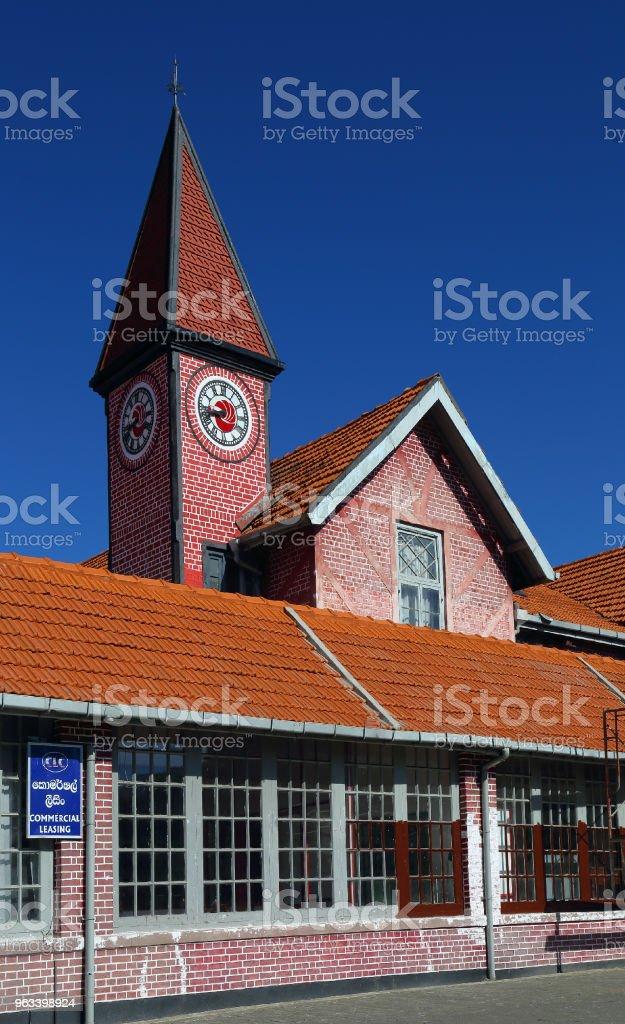 Budynek poczty w Nuwara Eliya - Zbiór zdjęć royalty-free (Architektura)