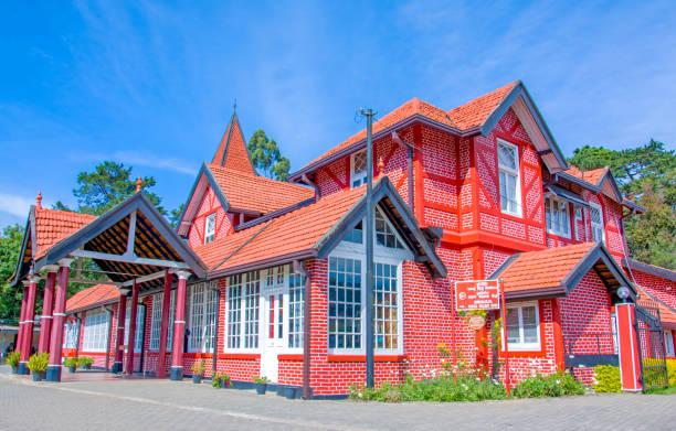 Post office building In Nuwara Eliya, Sri Lanka stock photo