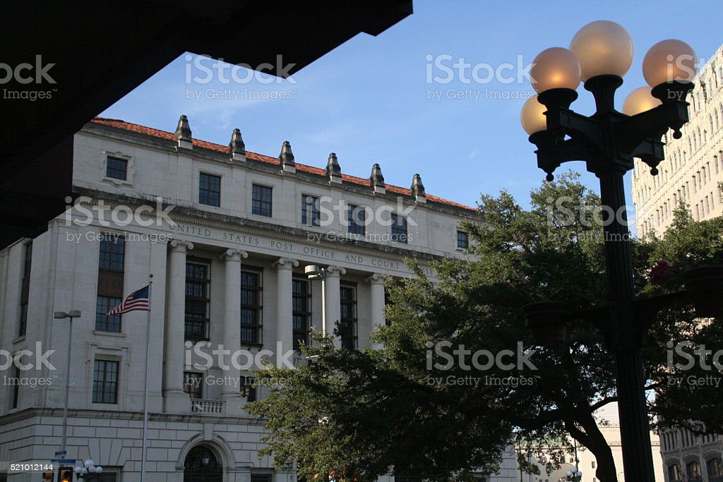 US Post Office in San Antonio stock photo