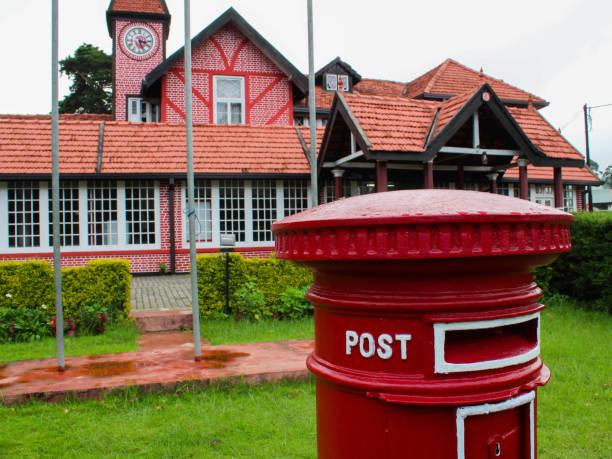 Post office of Nuwara Eliya, Sri Lanka stock photo