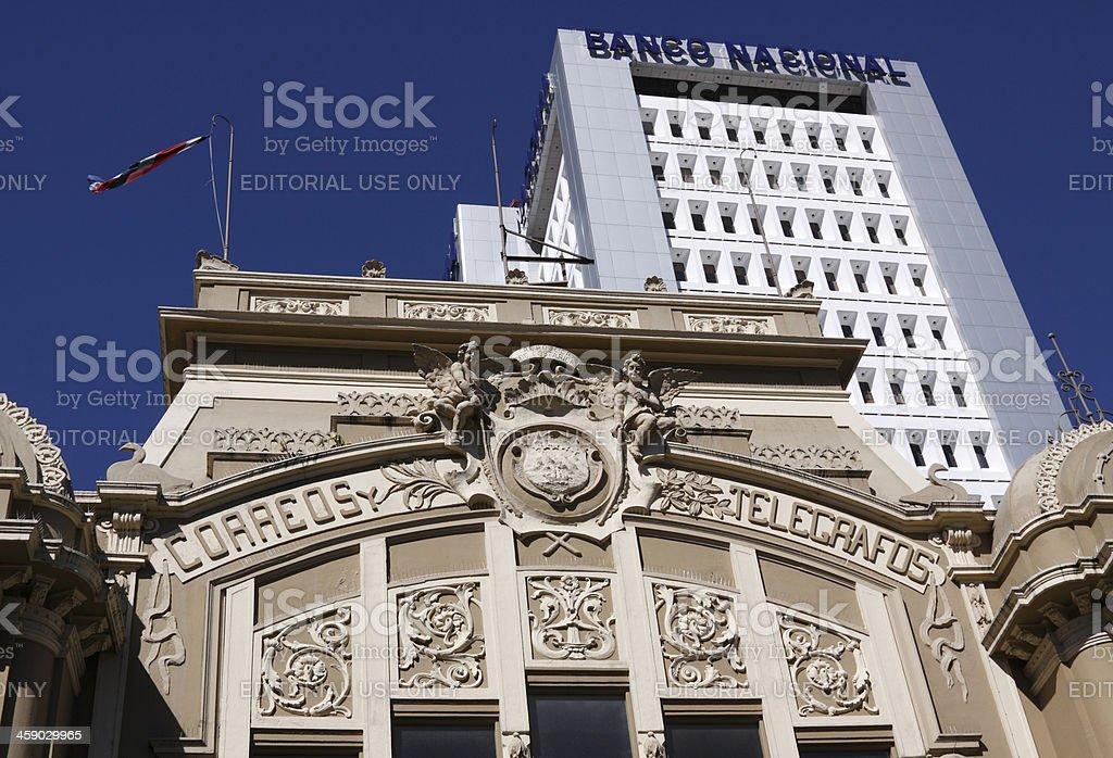 Post Office stock photo