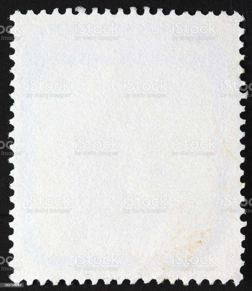 Post stamp frame stock photo