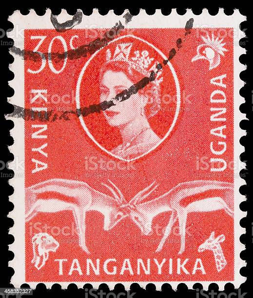 Post stamp from East Africa