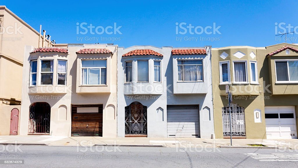 Post World War II Housing stock photo