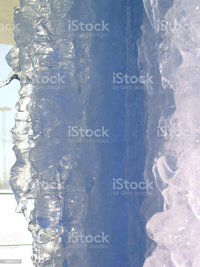 Post_ice2 royalty-free stock photo