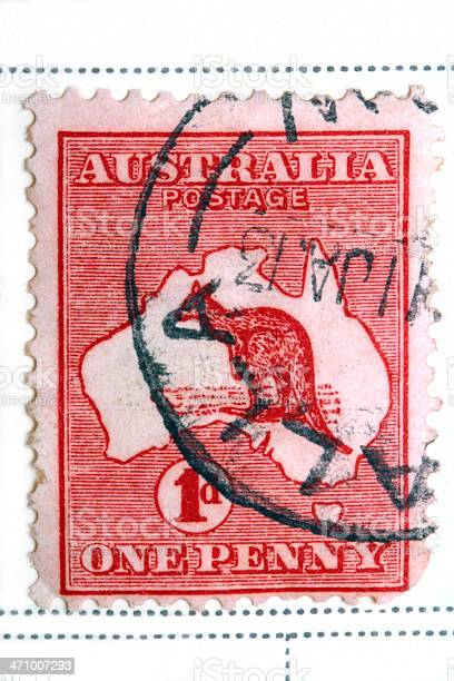Postage Stamp - Australian 1913