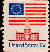 istock U.S. Postage Stamp from 1976 173813305