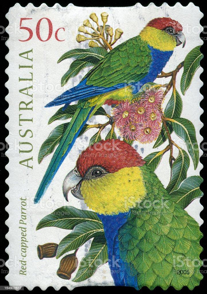 Postage stamp from Australia stock photo