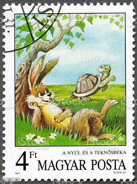 Postage stamp hungary 1987 tortoise and the hare aesops fables picture id177431802?b=1&k=6&m=177431802&s=612x612&h=cchqftrj2shkgtx8jc  ewh4 1ossfh3xzyagdkgb a=