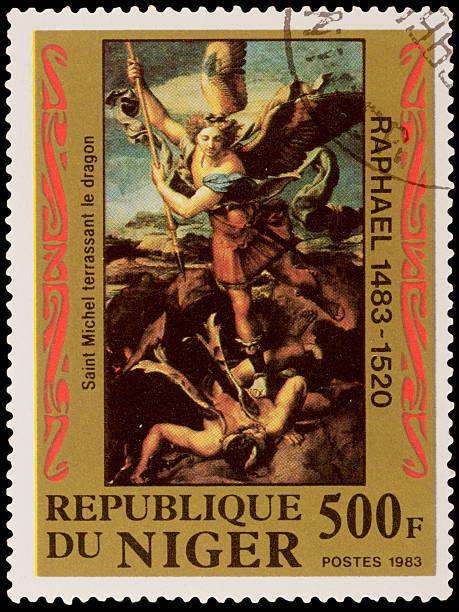 Selo Postal - foto de acervo
