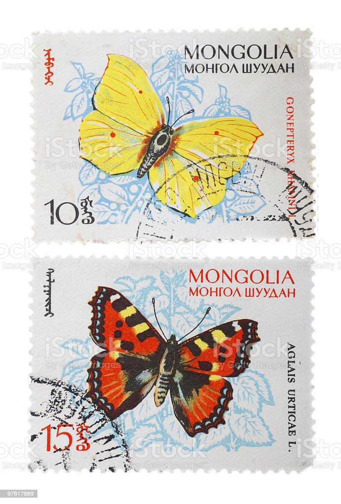 Postage Stamps royaltyfri bildbanksbilder