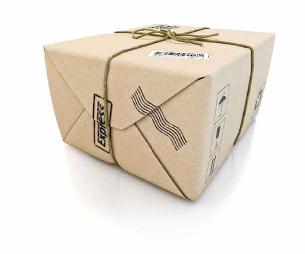 Postexpress-Zustelldienst und Pakettransportkonzept – Foto