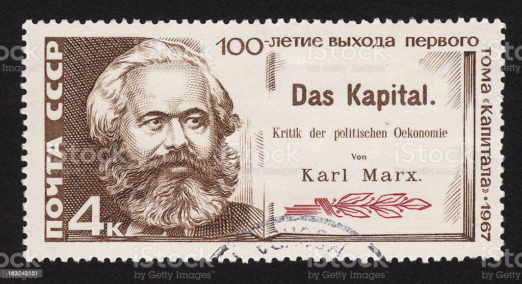 USSR Postal stamp - 100 anniversary of Capital stock photo
