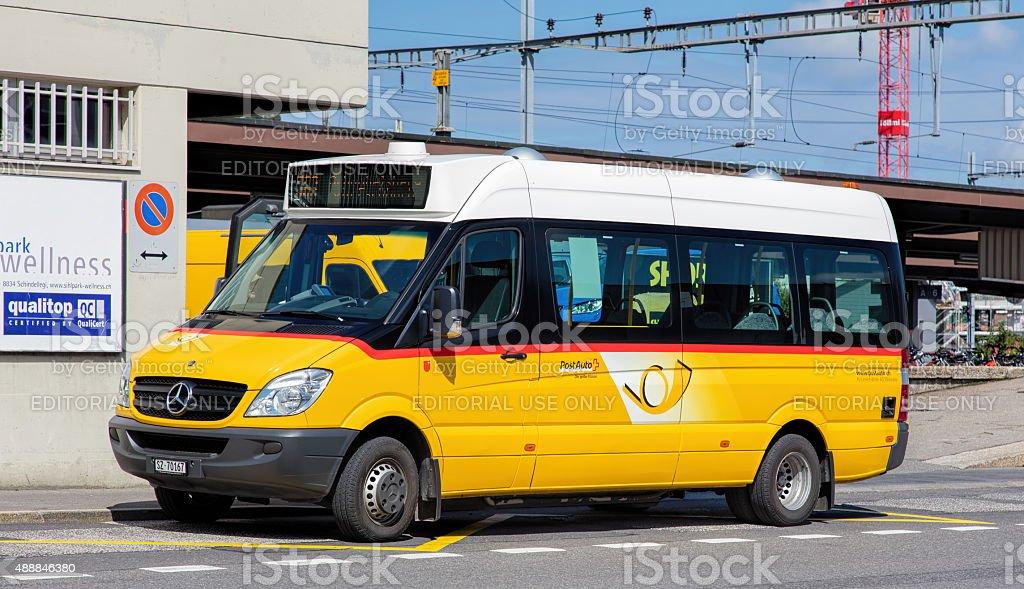 PostAuto Van stock photo